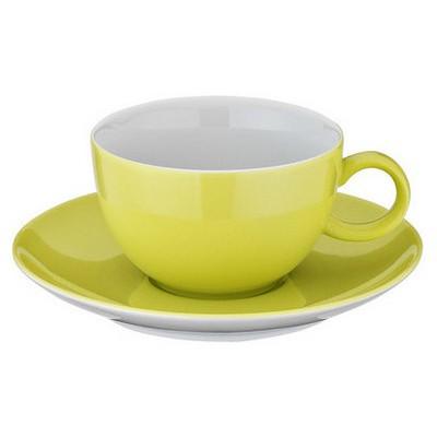 Kütahya Porselen 12 Parça Kahve Takımı Fıstık Yeşili Çay Seti