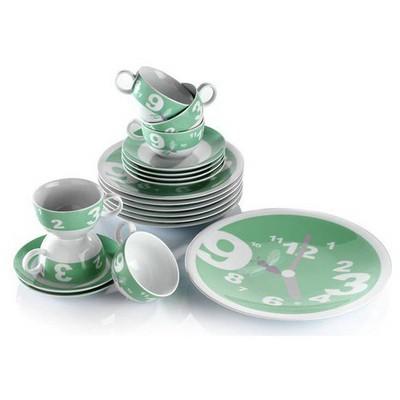 Kütahya Porselen 6 Kişilik 6945 Desen Ikram Seti Çay Seti