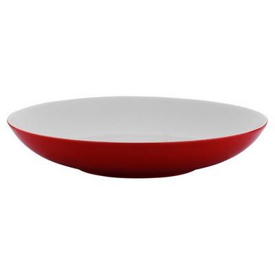 Kütahya Porselen Zeugma Çukur  Kırmızı Tabak