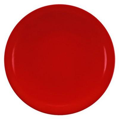 Kütahya Porselen Zeugma Servis Tabağı Kırmızı Servis Gereçleri