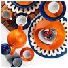 Kütahya Porselen Zeugma Servis Tabağı Turuncu Küçük Mutfak Gereçleri