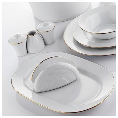 Kütahya Porselen Zümrüt 22 Cm Kayık Tabak