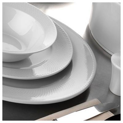 Kütahya Porselen Zümrüt 25 Cm Düz Tabak Küçük Mutfak Gereçleri