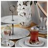 Kütahya Porselen Zümrüt 6 Kişilik 46 Parça Ikram Seti Yemek Takımı