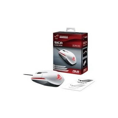 Asus P301-1B ROG SICA WHITE MS 3310 3B 5000DPI Mouse