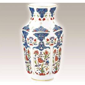 Kütahya Porselen Vazo No 24 El Yapımı