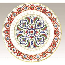 Kütahya Porselen 28cm Tabak No 44 El Yapımı