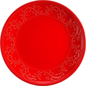 Naturaceram Ivy Pasta Tabağı Kırmızı Pasta Takımı
