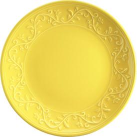 Naturaceram Ivy Pasta Tabağı Sarı Pasta Takımı