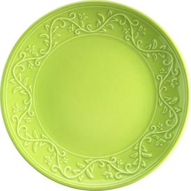 Naturaceram Ivy Pasta Tabağı Yeşil Pasta Takımı