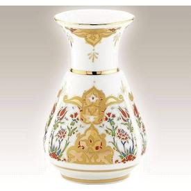 Kütahya Porselen Vazo No 15 El Yapımı