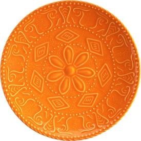 Naturaceram Sun Flower Pasta Tabağı Turuncu Pasta Takımı