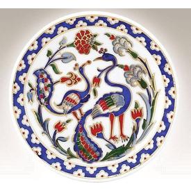 Kütahya Porselen 10cm Tabak No 5 El Yapımı