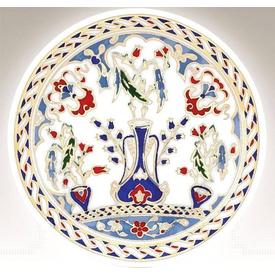 Kütahya Porselen 10 Cm Tabak No 3 El Yapımı
