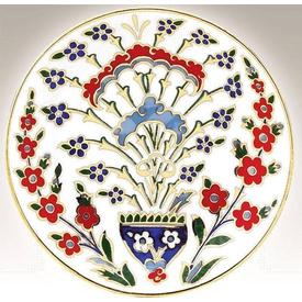 Kütahya Porselen 13 Cm Tabak No 11 El Yapımı