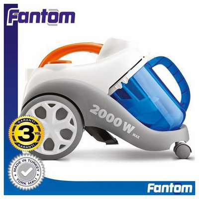 Fantom Su Filtre WF 6200 2000W Su Filtreli Elektrikli Süpürge