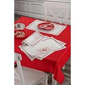 Keramika Masa Ortusu Kırmızı 140x140 / 322091 Yemek Takımı