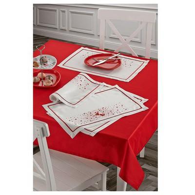 Keramika Amerıkan Servıs 4lu Kalplı Kus 35x50 / 322091 Küçük Mutfak Gereçleri