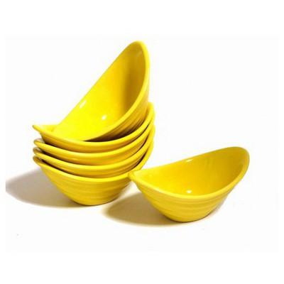 Keramika Cerezlık Gondol 16 Cm Sarı 100 Gondol / Şekerlik