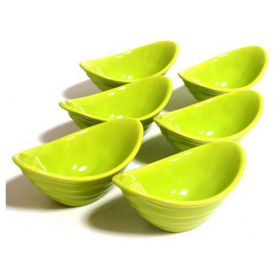Keramika Cerezlık Gondol 16 Cm Yesıl 302 Gondol / Şekerlik