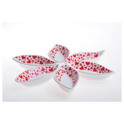 Keramika Cerezlık Sosluk Yaprak 12 Cm Beyaz 004 Kera Mıra 07 Cm Yaprak Sosluk A Çerezlik