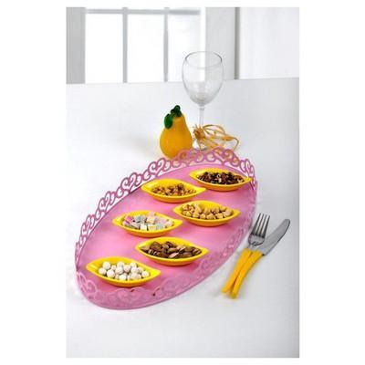 Keramika Cerezlık Sosluk Yaprak 12 Cm Sarı 100 Tabak
