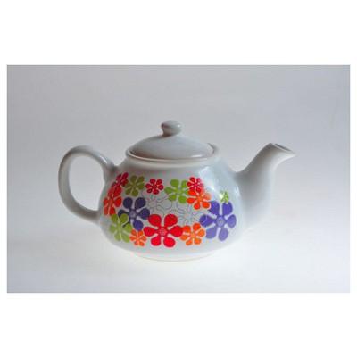 Keramika Demlık 9 Cm Beyaz 004 Renkli Trend A Çaydanlık & Cezve