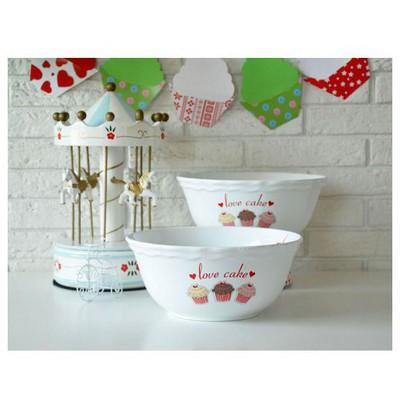 Keramika Kase Julıet 25 Cm Beyaz 004 Fruıt Cake 25 Cm Julıet Kase Tabak