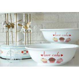 Keramika Kase Dıyar 25 Cm Beyaz 004 Fruıt Cake 25 Cm Dıyar Kase A Tabak