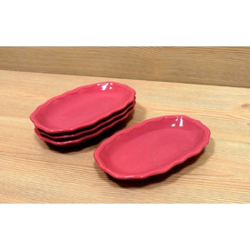 Keramika Kayık Romeo 19 Cm Frambuaz 553 Tabak