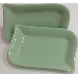 Keramika Kayık Ada 22 Cm Cagla Yesıl 307 Tabak