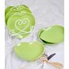 Keramika Tabak Kalp 20 Cm Yesıl 302 Sofra Gereçleri