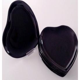 Keramika Kalp 20 Cm Siyah 650 Tabak