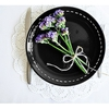 Keramika Tabak Alfa Pasta 21 Cm Pıko Siyah Sofra Gereçleri