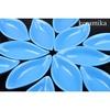 Keramika Sosluk Yaprak 12 Cm Mavı 400 Tabak