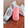 Keramika Set Tuzluk Bıberlık Ada Pecetelık Platın 3 Parca Beyaz 004-pembe 550 Pınk Love Keramıra A Tabak