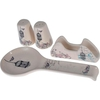 Keramika Set Tuzluk Bıberlık Assos Pecetelık Platın Kasıklık Ege 27 Cm 4 Parca Krem 030 Retro A Sofra Gereçleri