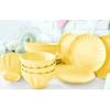 Keramika Takım Yemek Badem 16 Parca Acık Sarı 103 Tabak