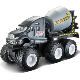 Maisto Quarry Monster Mini Motorlu Iş Makinası Füme Arabalar