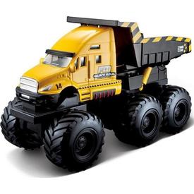 Maisto Quarry Monster Mini Motorlu Iş Makinası Sarı Arabalar