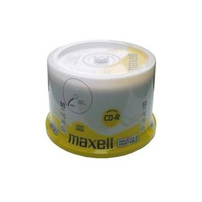 Maxell Cd-r 52x 50li Prıntable Cakebox - 624042.00.cn CD/DVD