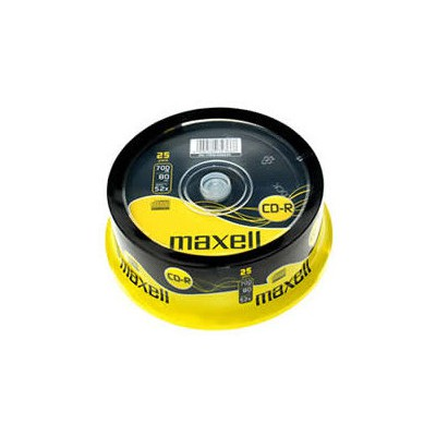 Maxell Cd-r 52x 25?li Cakebox - 628522.40.ın CD/DVD