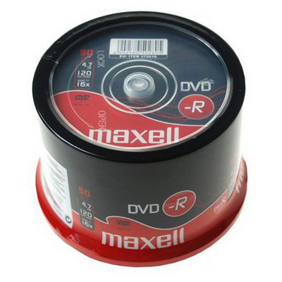 Maxell Dvd-r 47 16x 50s - 275610.40.ın CD/DVD