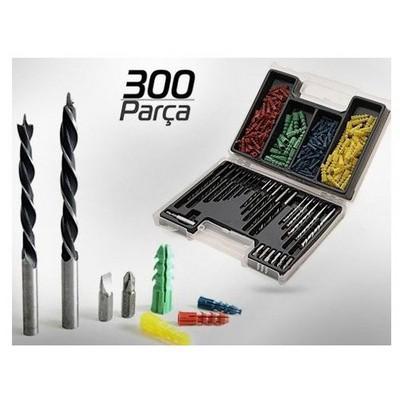 Bits 300 Parca Dubel Matkap Ucu Uc Set Hırdavat Ürünü