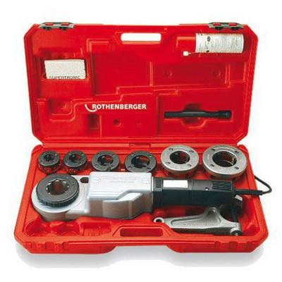 Rotherberger Supertronic 2000 Elektrikli El Tipi Pafta Seti 1/2 X2 Tesisatçı Makinesi