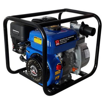 DBK Benzinli Motopomp Su Pompasi 2 Ipli Su Motoru & Hidrofor