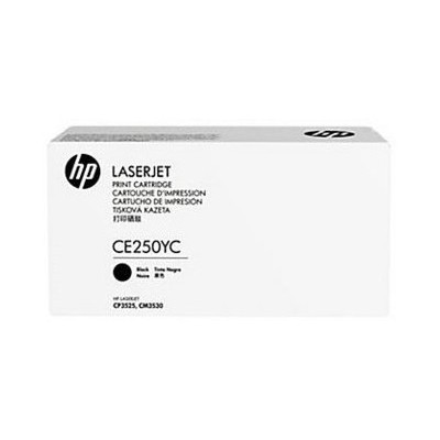HP Contractual Black Optimized Original LaserJet  Cartridge (CE250YC) Toner