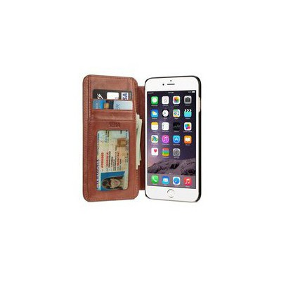 Sena Cases Sena Wallet Book for iPhone 6 Plus - Cognac