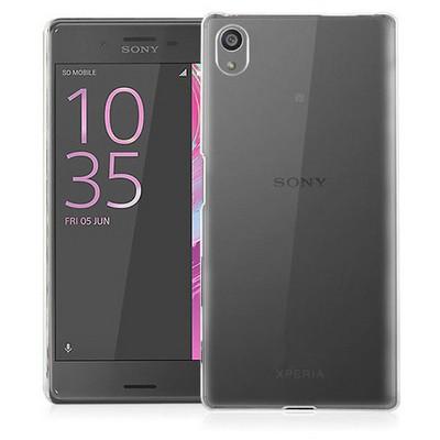 Microsonic Sony Xperia X Kılıf Kristal Şeffaf Cep Telefonu Kılıfı