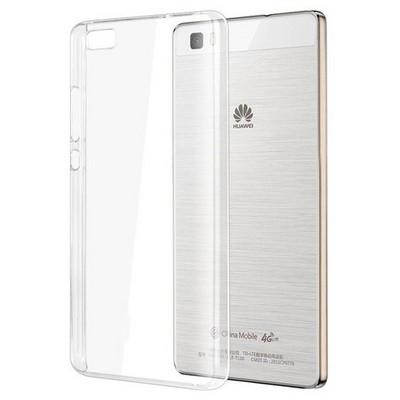 Microsonic Huawei P8 Lite Kılıf Kristal Şeffaf Cep Telefonu Kılıfı